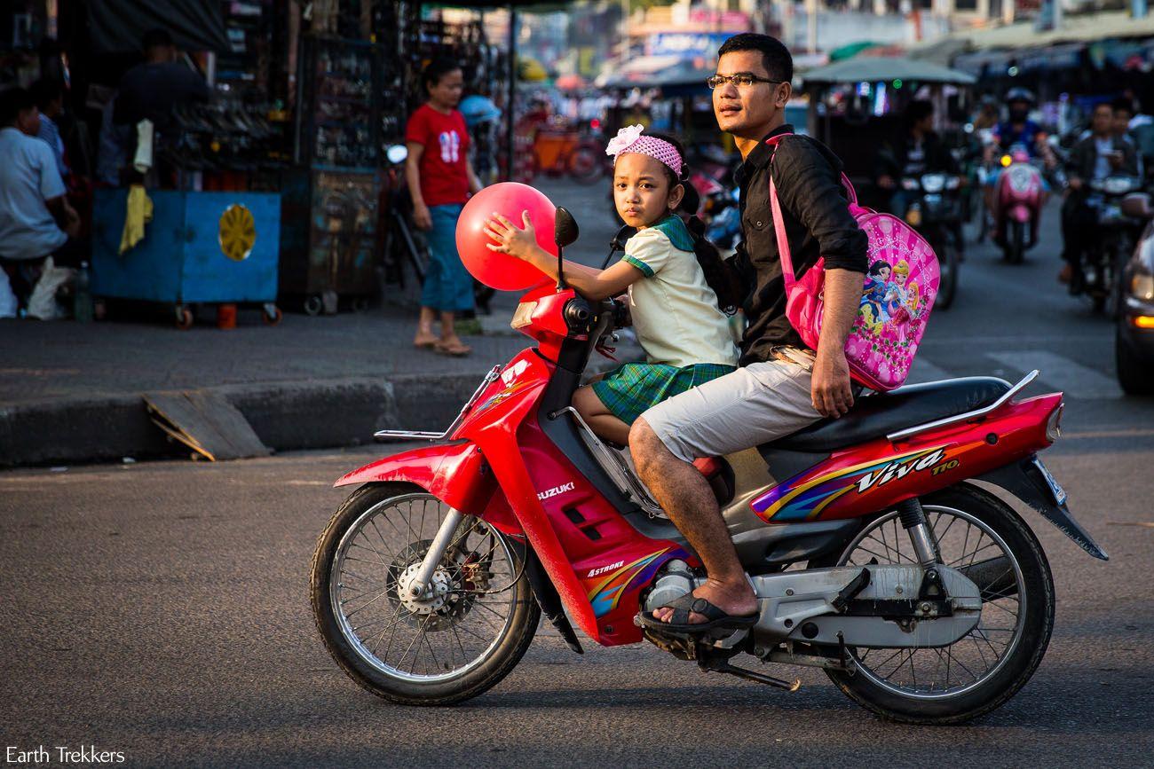 Cambodia Motorbike