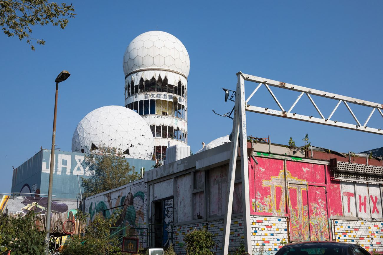 Entering Teufelsberg