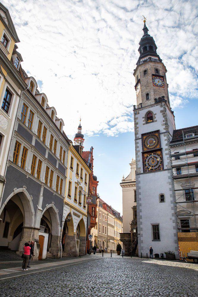 Gorlitz Clock Tower Berlin Day Trip