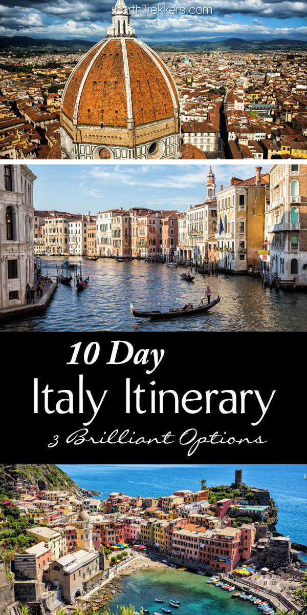 Italy Itinerary 10 Days
