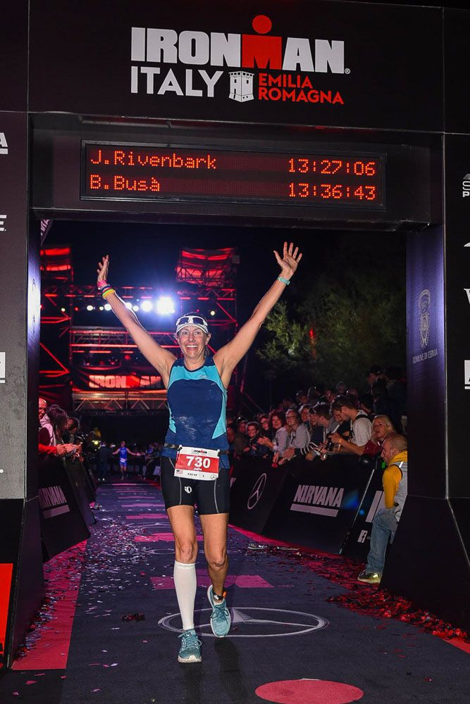 Julie Rivenbark Ironman Italy