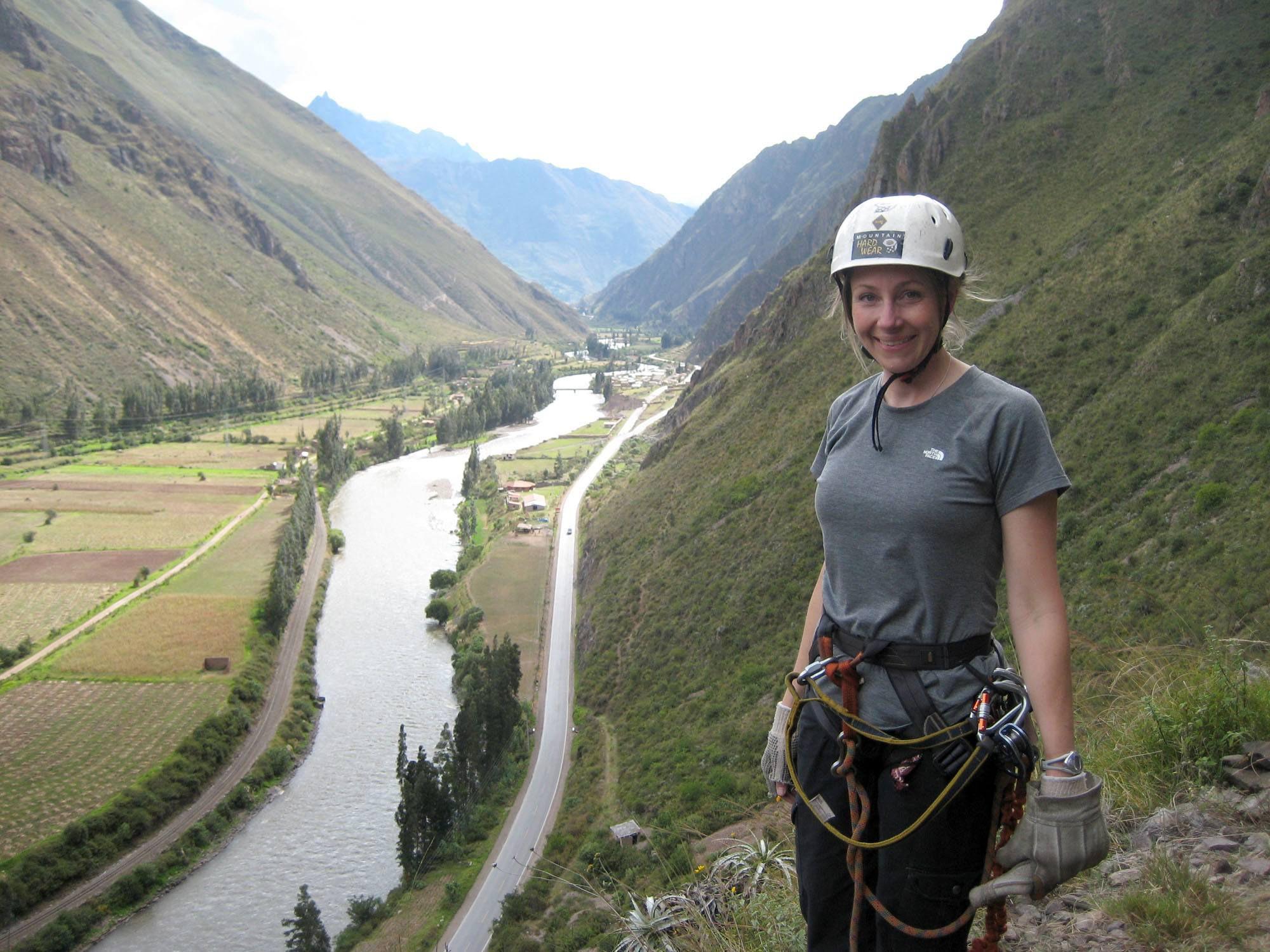 Julie in Peru