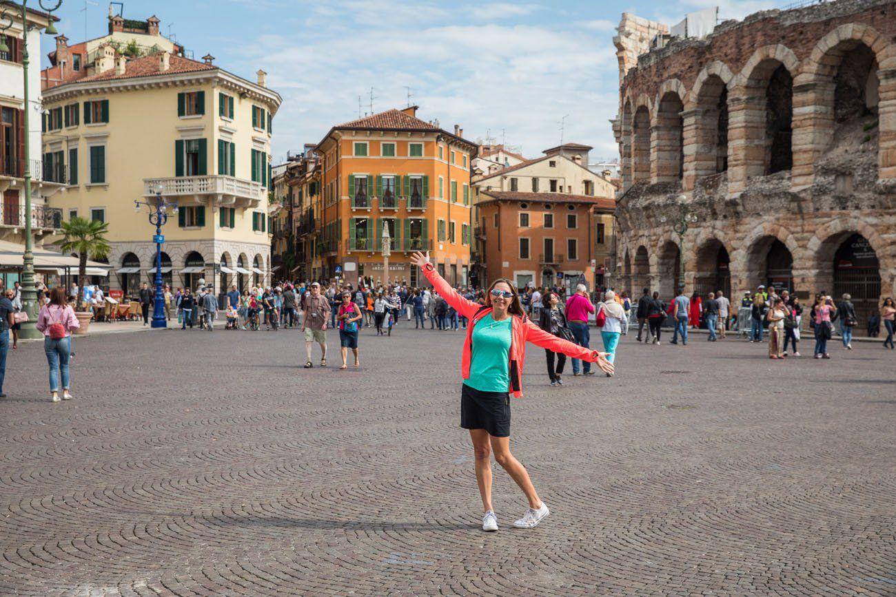 Julie in Verona