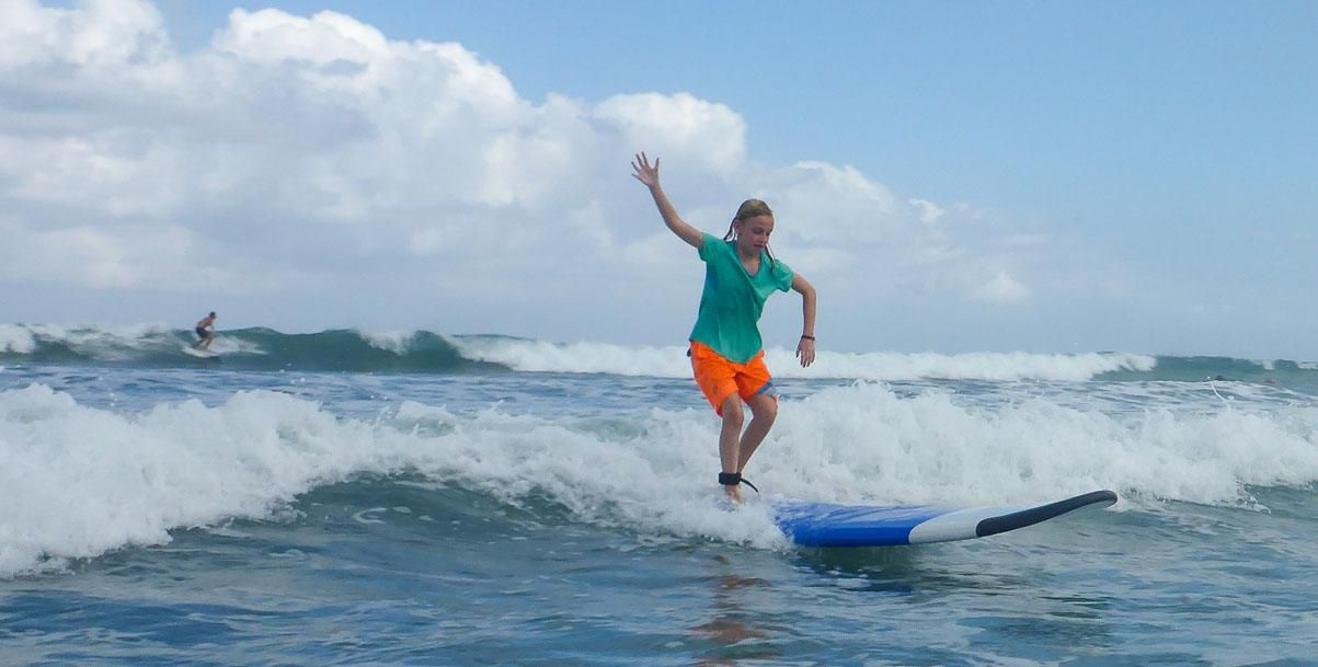 Kara Surfing