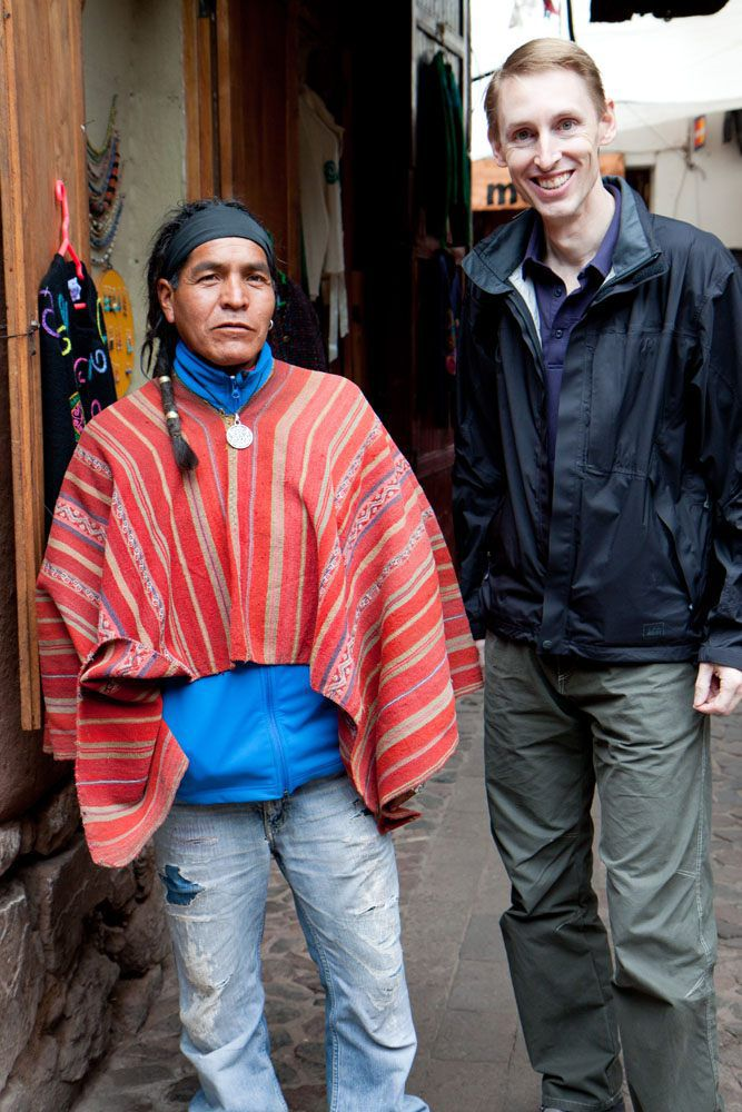 Making Friends in Peru
