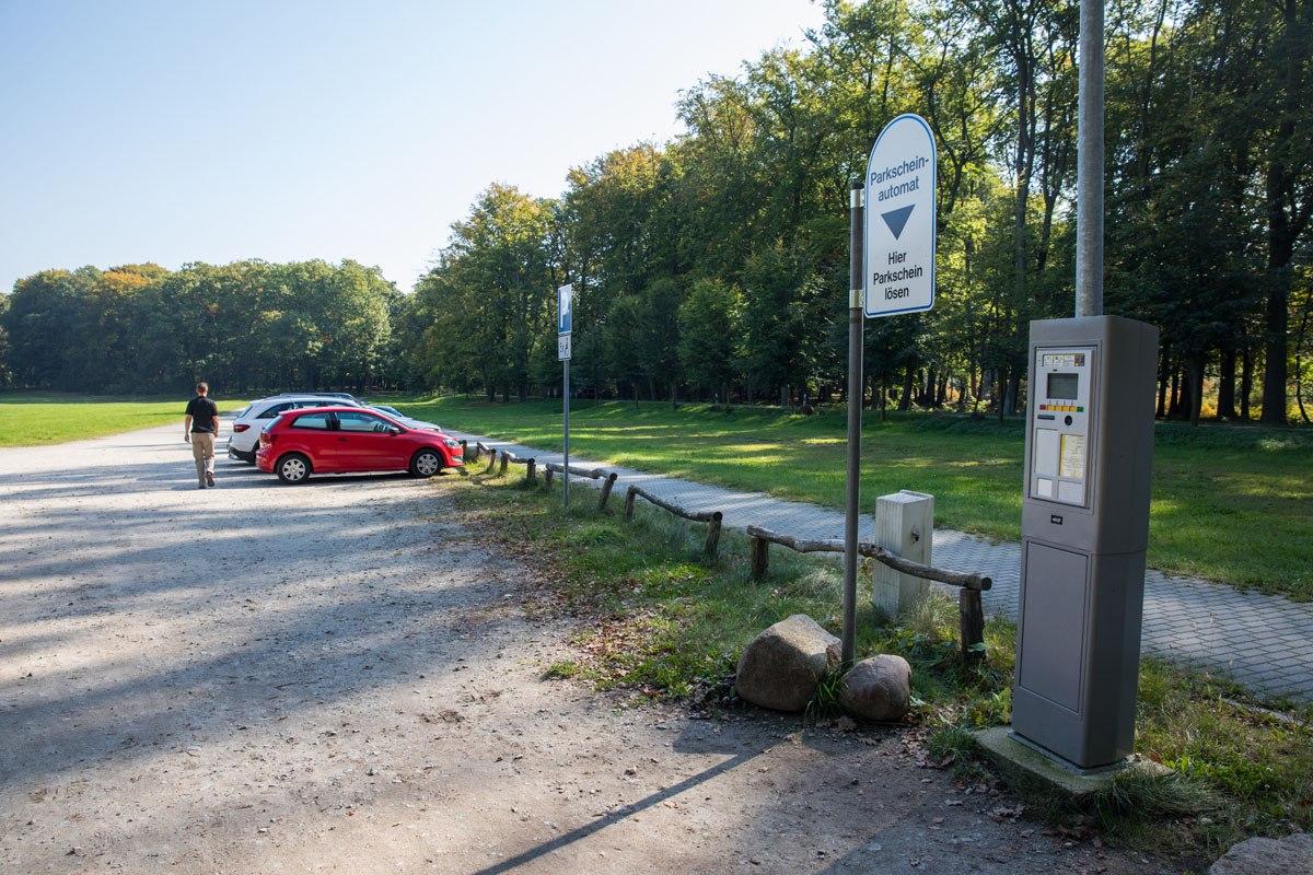 Parking for Rakotzbrucke