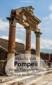 Pompeii Sorrento Rome Travel