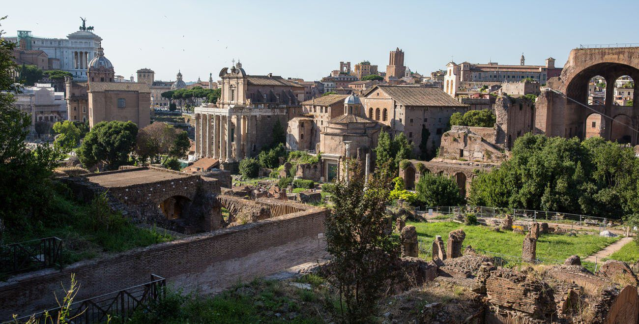 Roman Forum 2 days in Rome itinerary