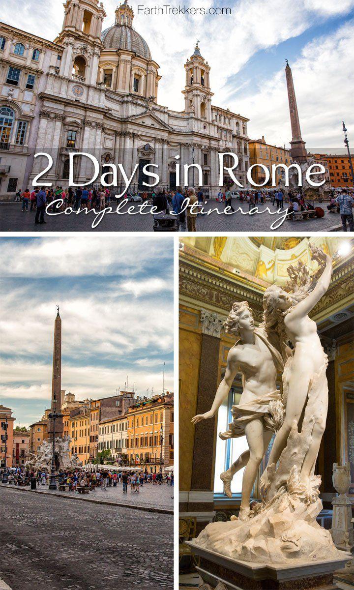 Rome Itinerary Travel Advice