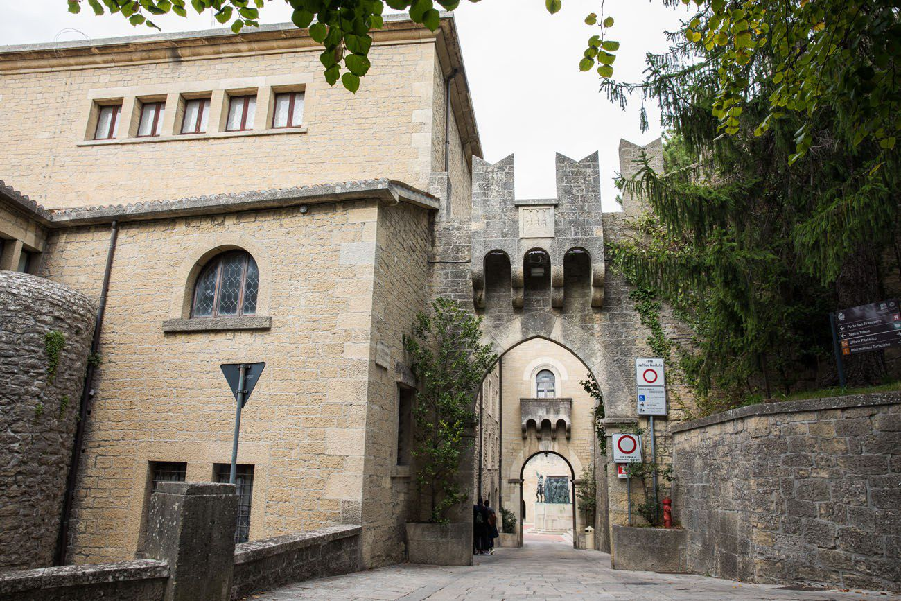 San Marino Entrance
