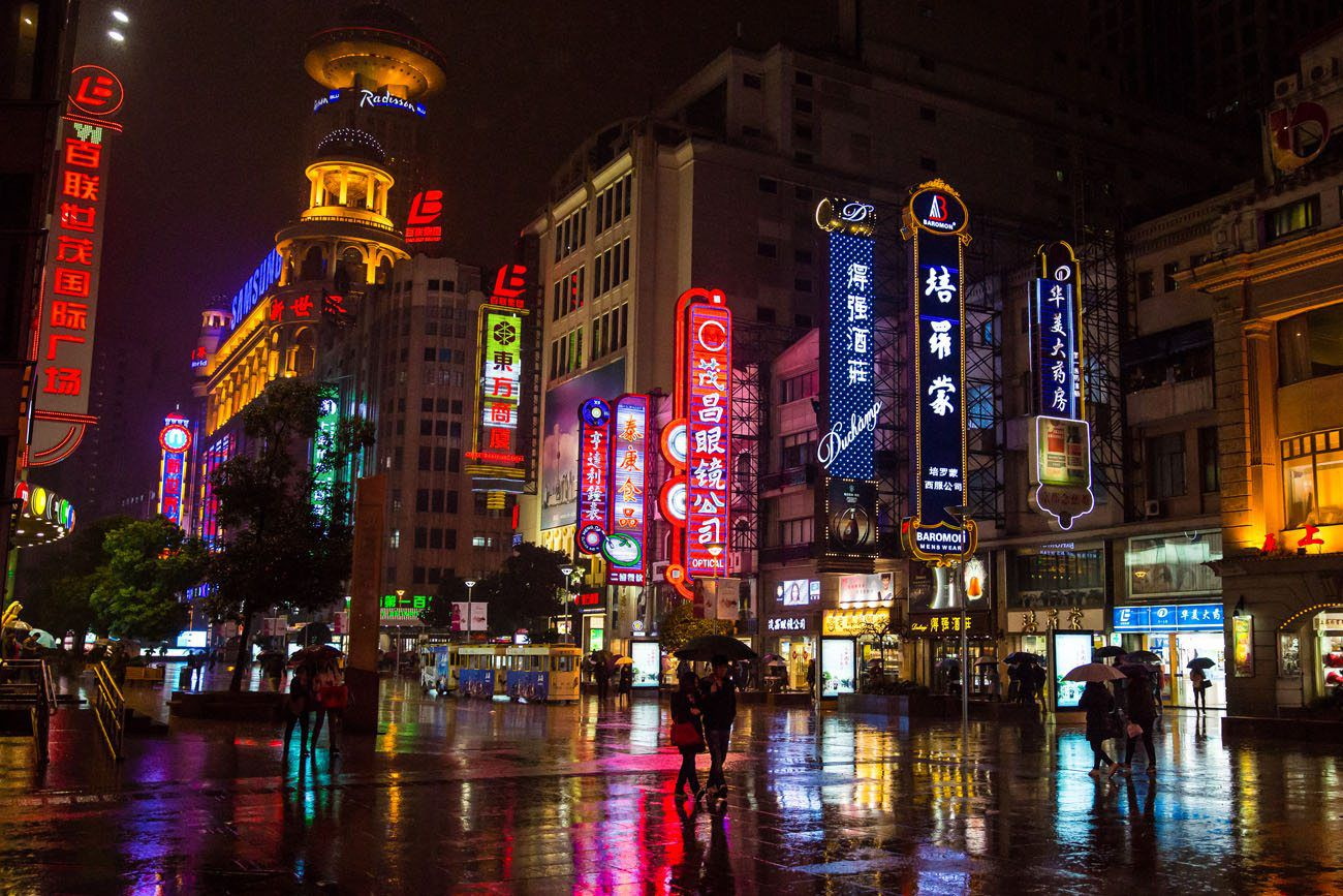 Shanghai in the Rain