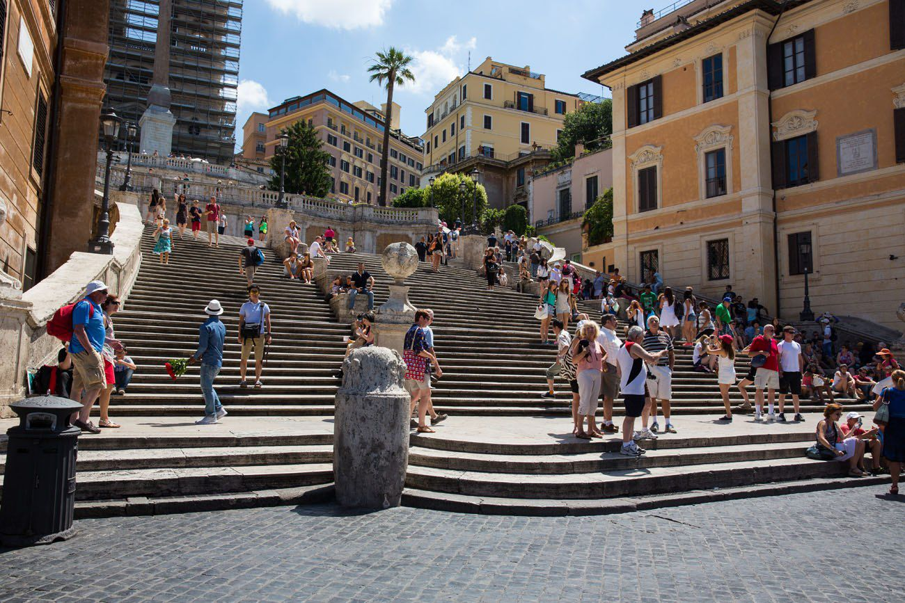 Spanish Steps 2 days in Rome itinerary