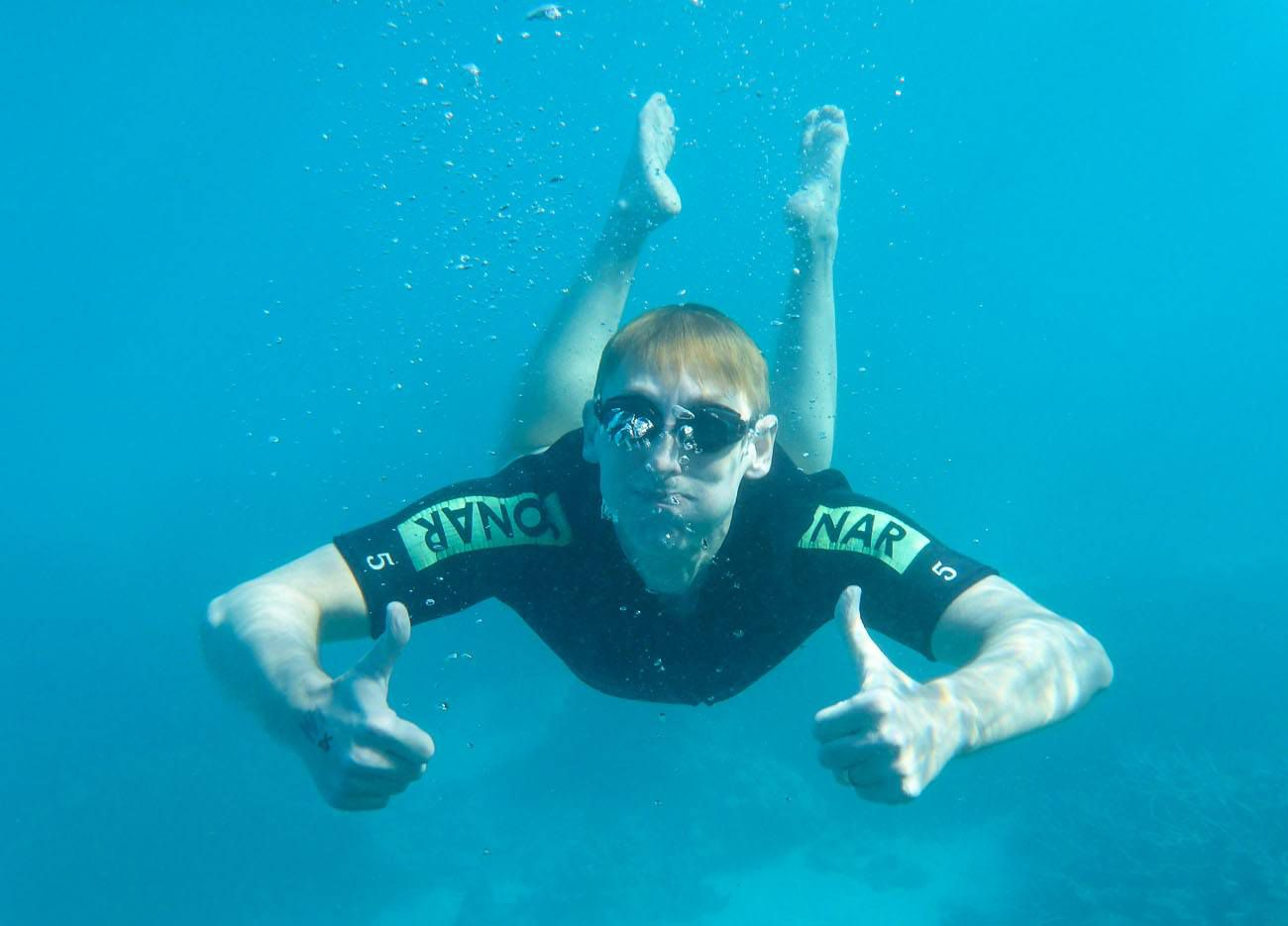 Tim Snorkeling