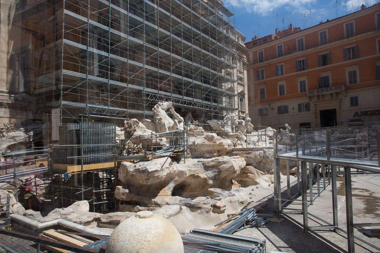 Trevi Fountain 2014