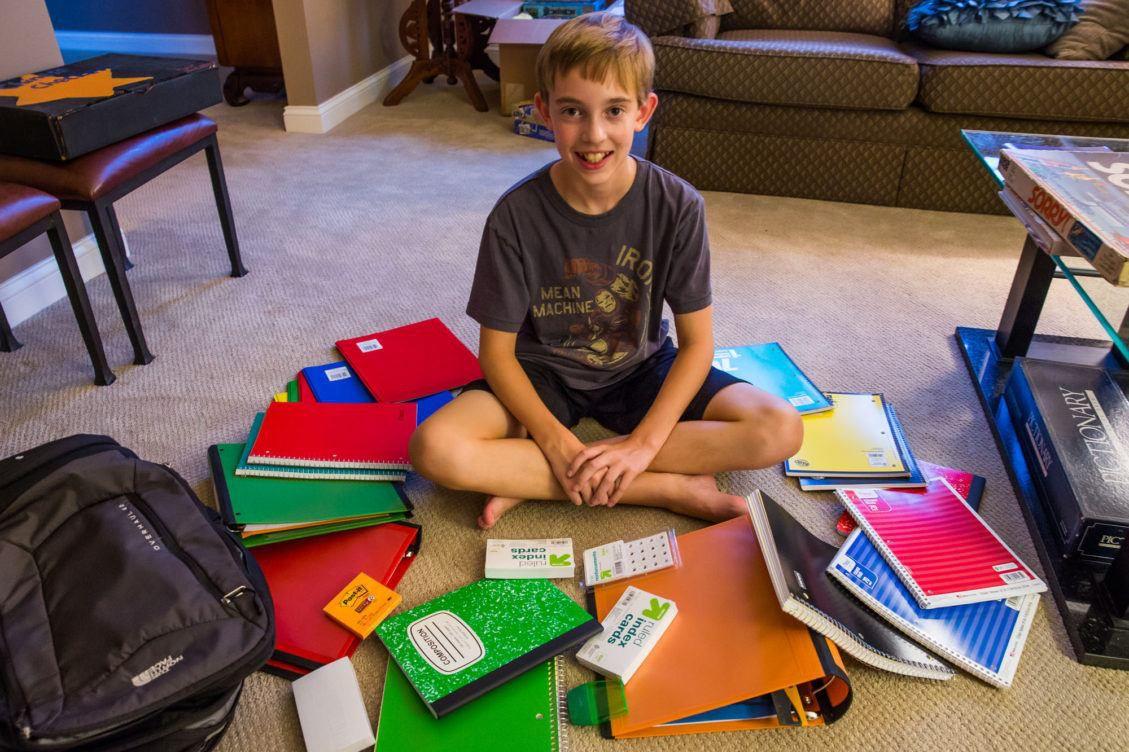 Tylers School Supplies