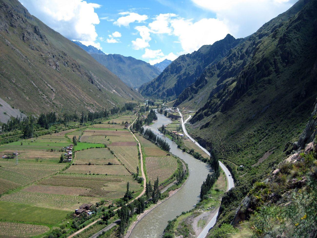 Urabamba River Valley