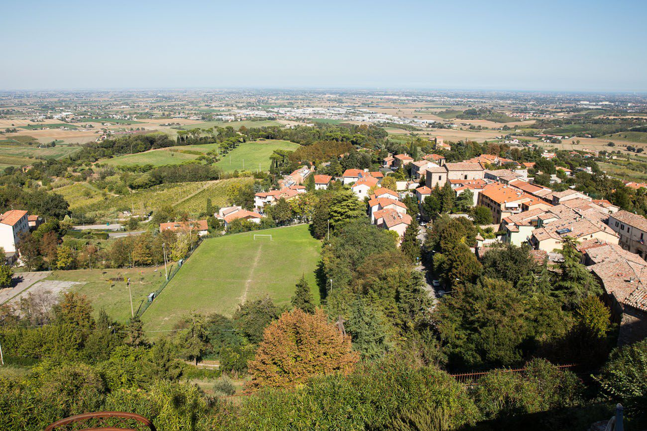 View from Bertinoro