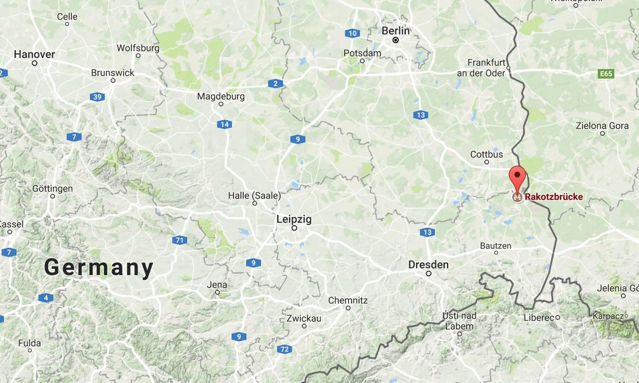 Where is Rakotzbrucke