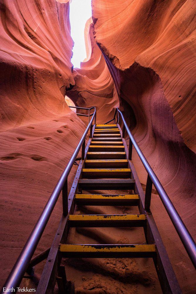 Antelope Canyon Ladder