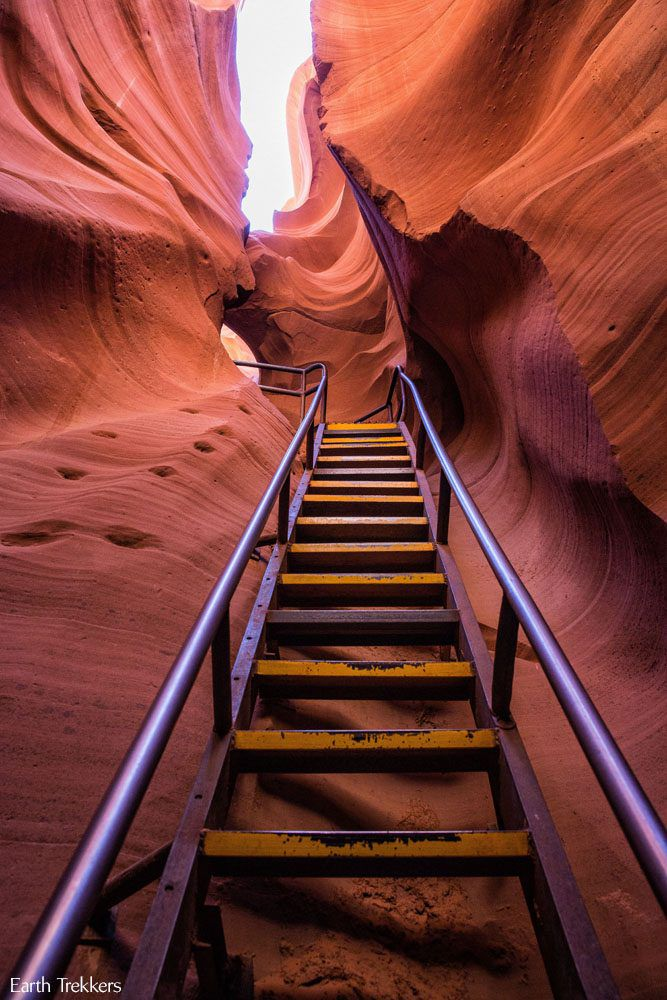Antelope Canyon Ladder