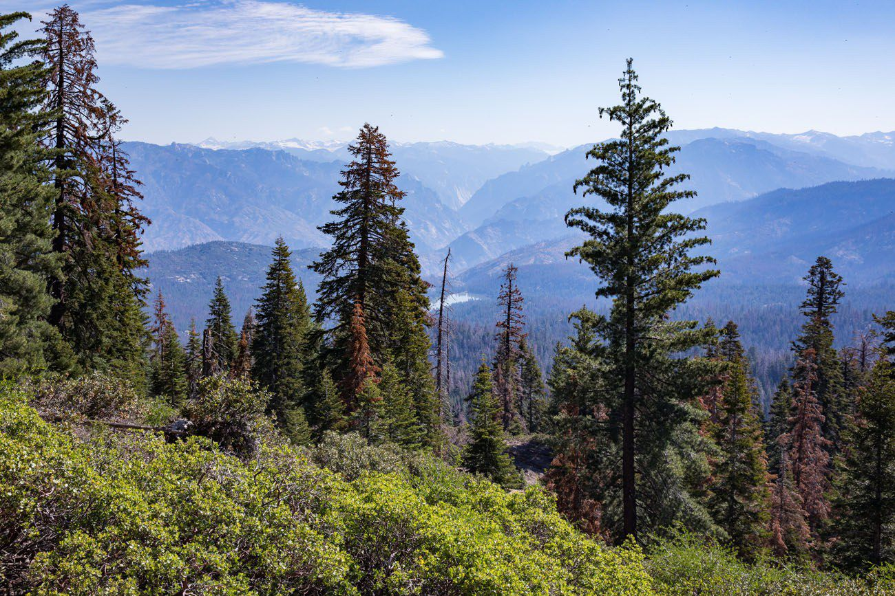 Kings Canyon Panoramic Overlook