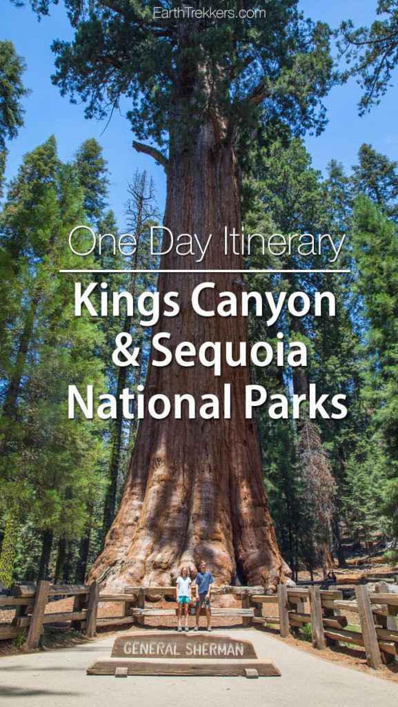 Kings Canyon Sequoia National Parks