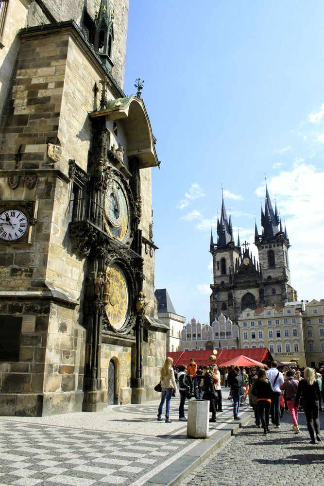 Old Town Clock Prague