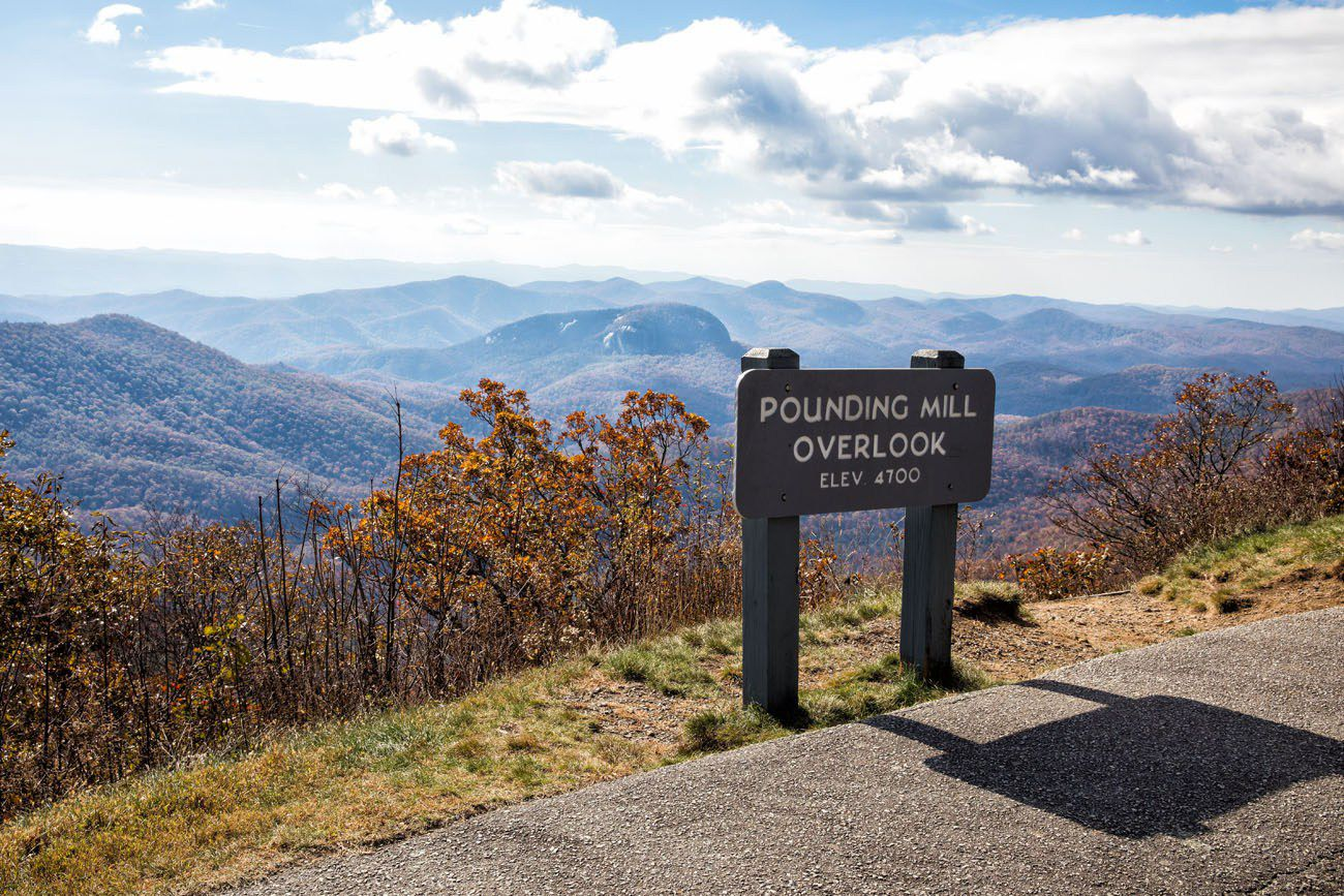 Pounding Mill Overlook
