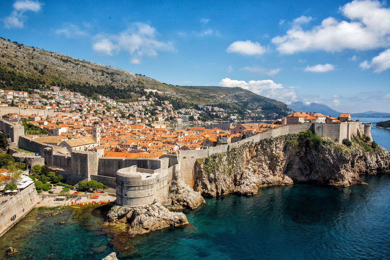 Dubrovnik in April