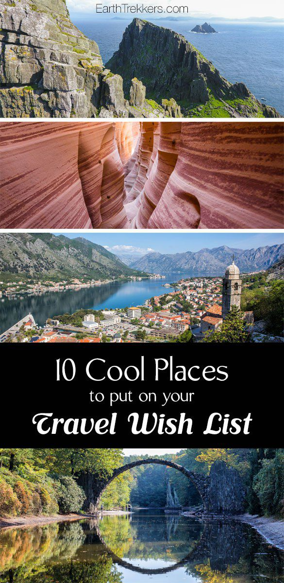 Travel Wish List