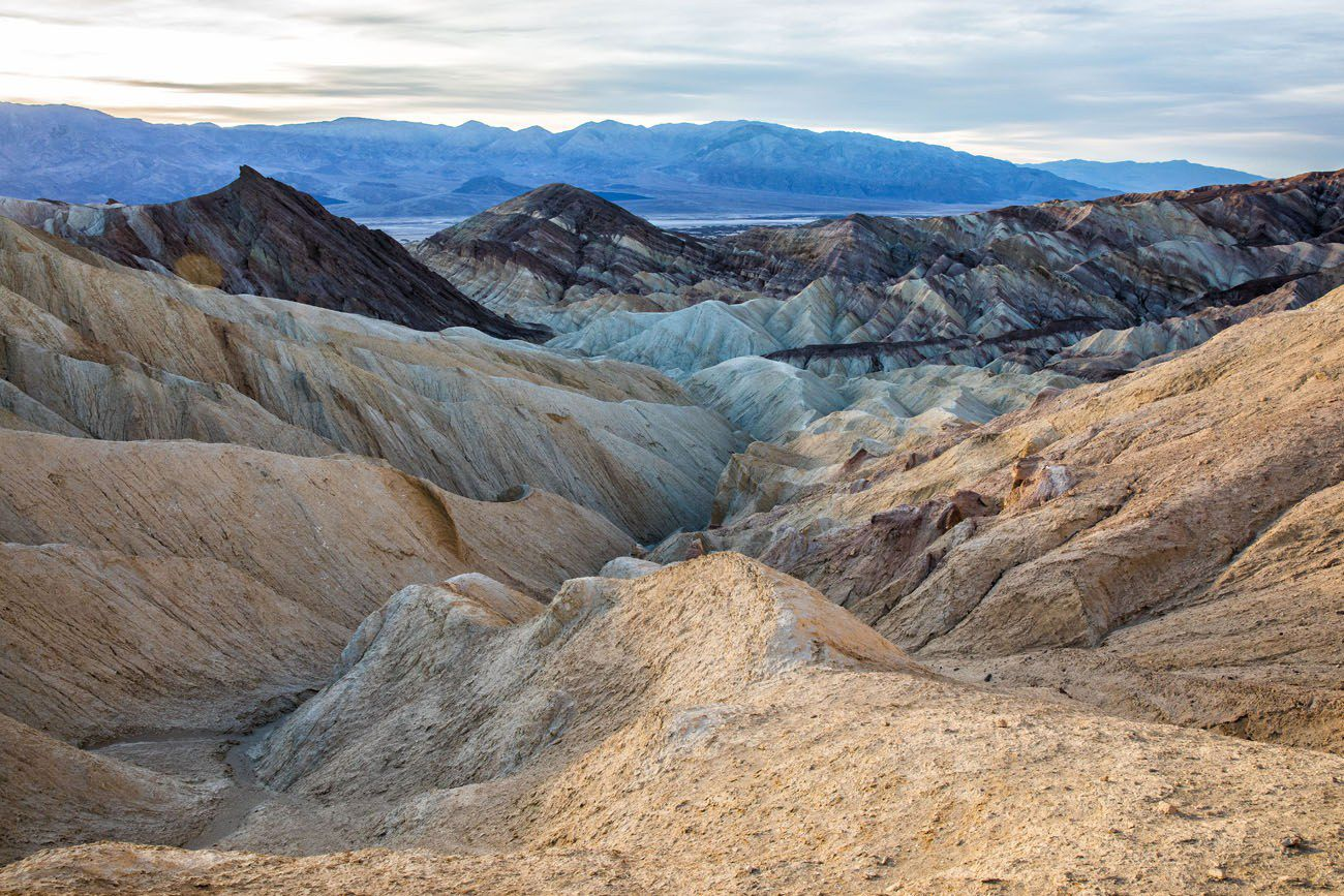 Badlands Death Valley