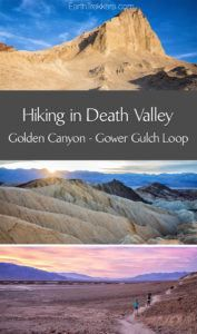 Death Valley Hiking