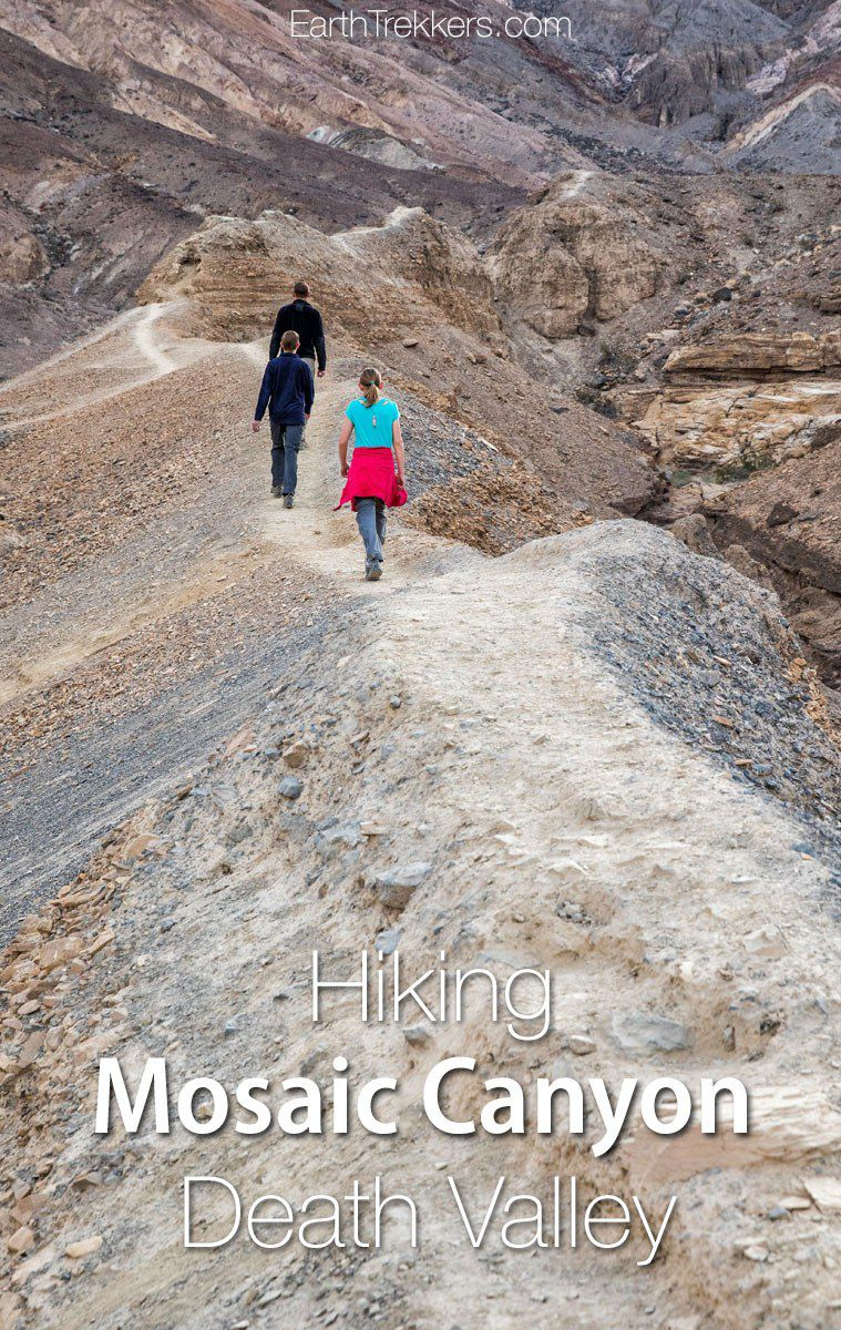 Death Valley Hiking Mosaic Canyon