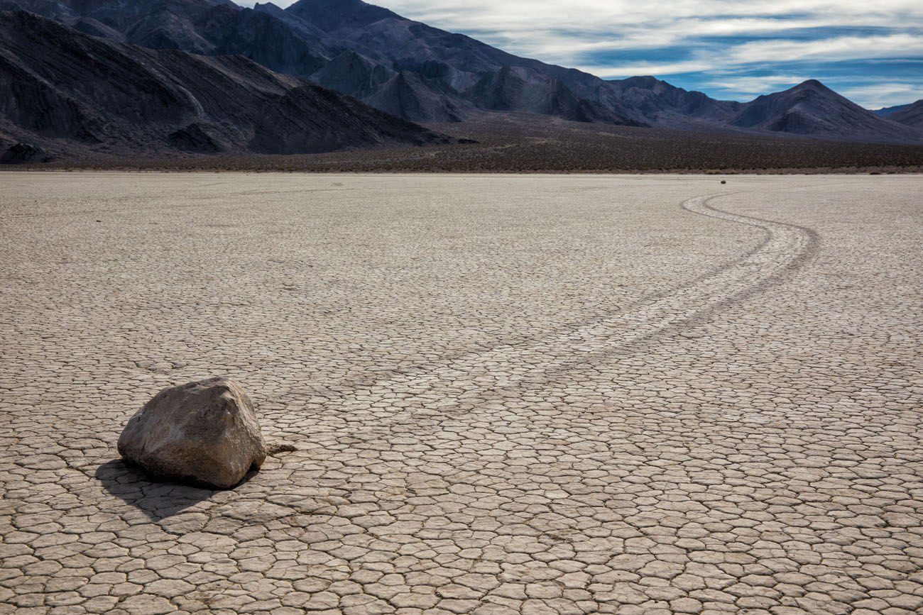 Death Valley Sailing Stone