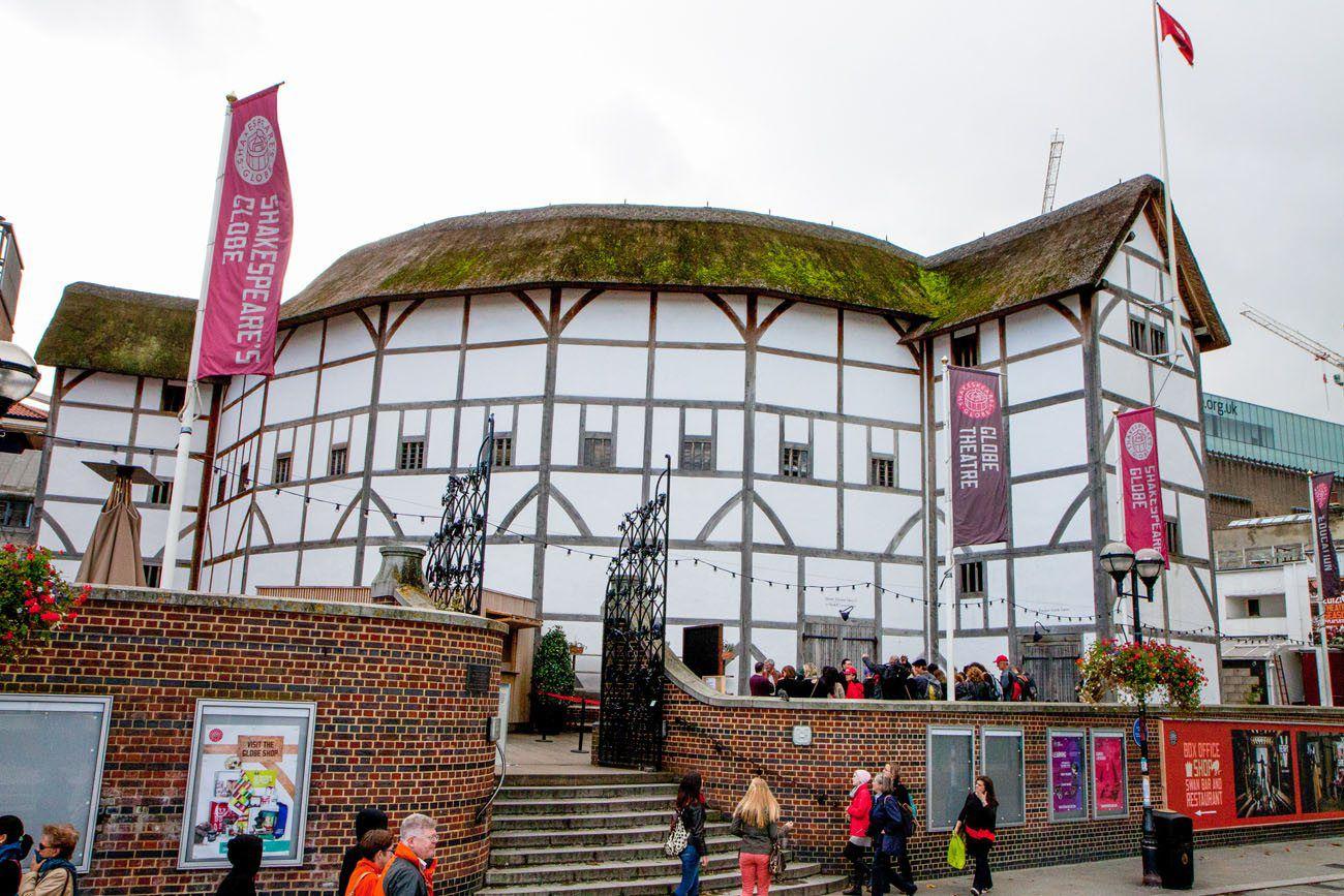 Globe Theater London itinerary