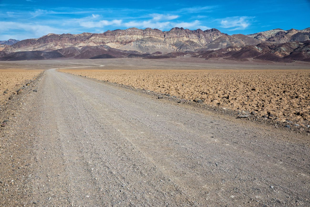 Gravel Road Death Valley