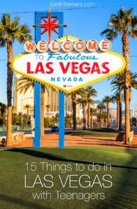 Las Vegas with Teenagers Things to do