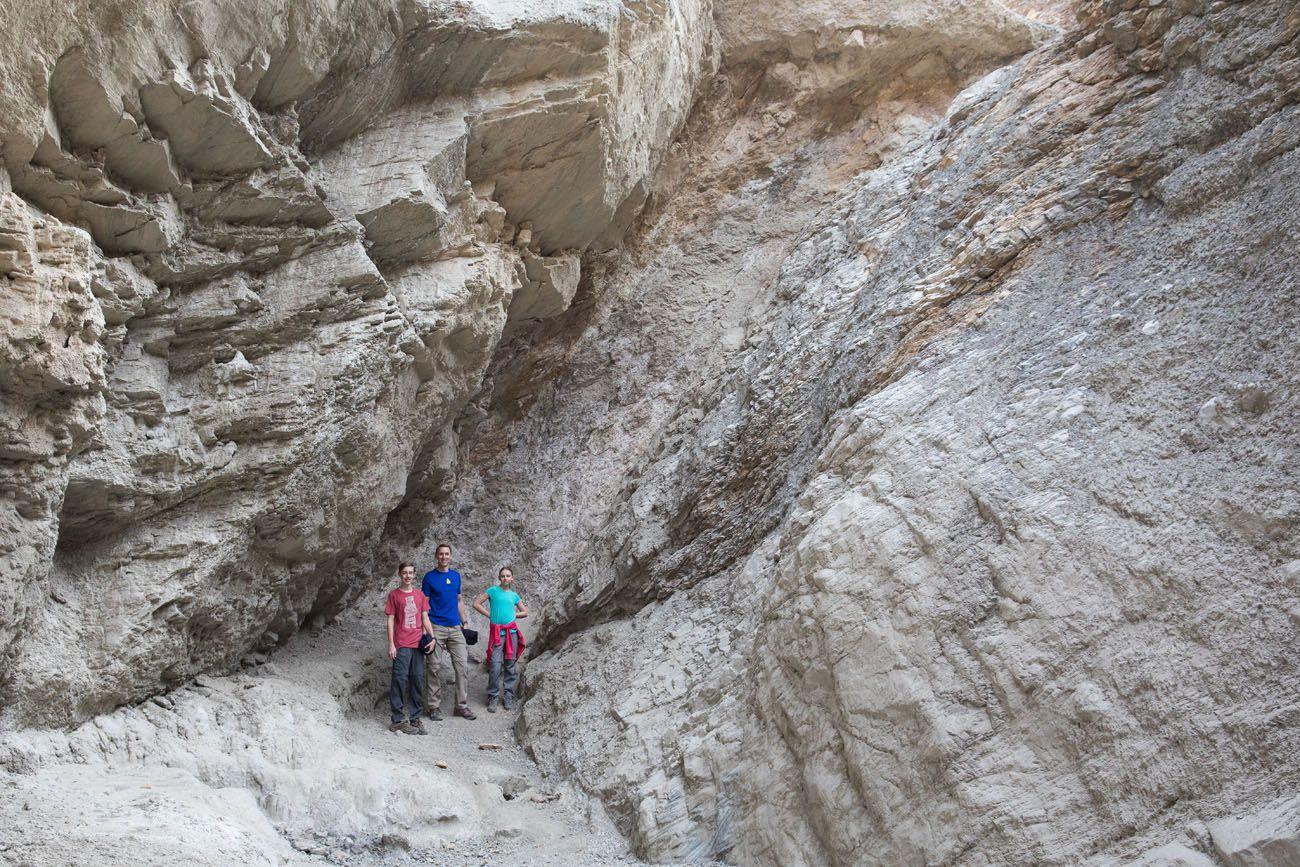 Mosaic Canyon Dryfall