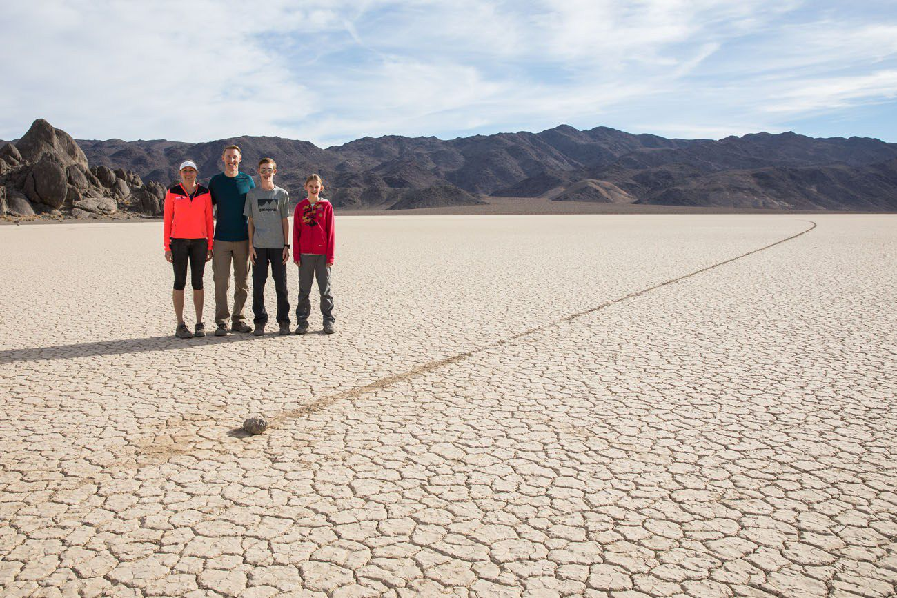 On Racetrack Playa