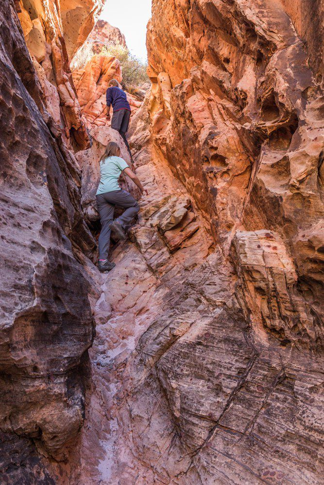 Red Rock Canyon Scrambling