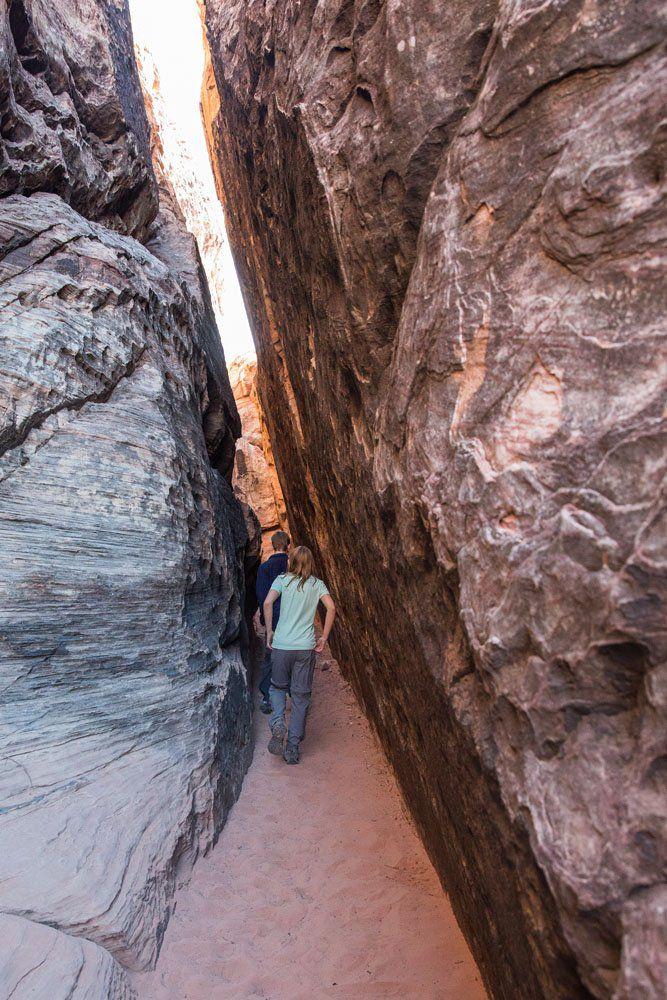 Red Rock Slot Canyon