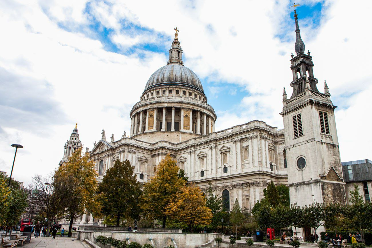 St Pauls Cathedral London itinerary