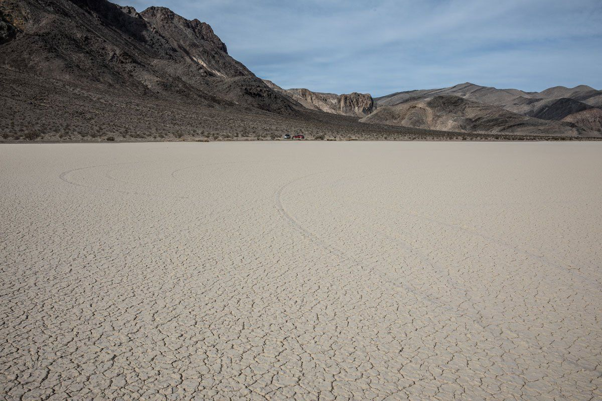 Tire Tracks Racetrack Playa