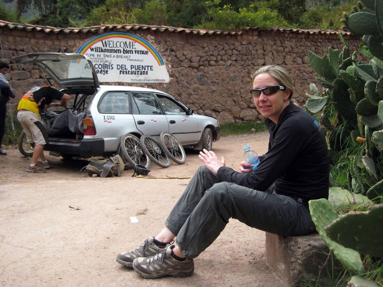 Broken Hand in Peru