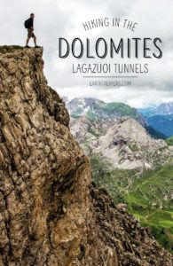 Dolomites Hiking Lagazuoi Tunnels