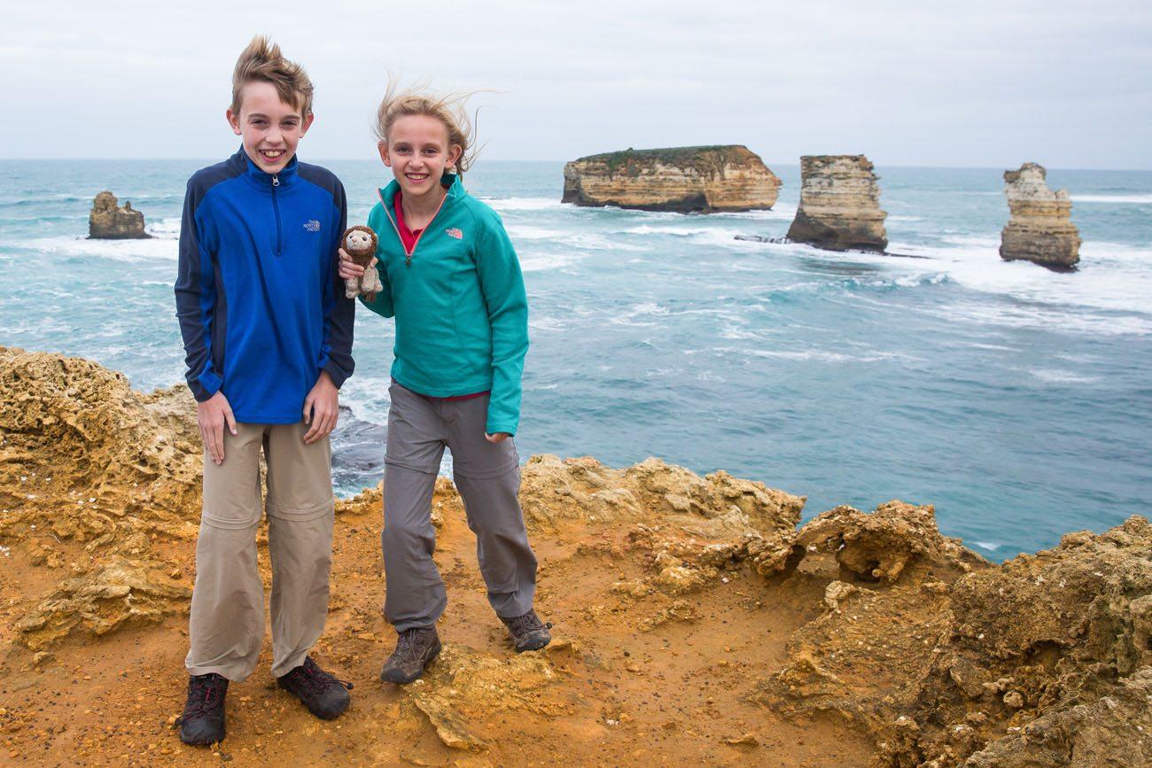 Great Ocean Road with kids