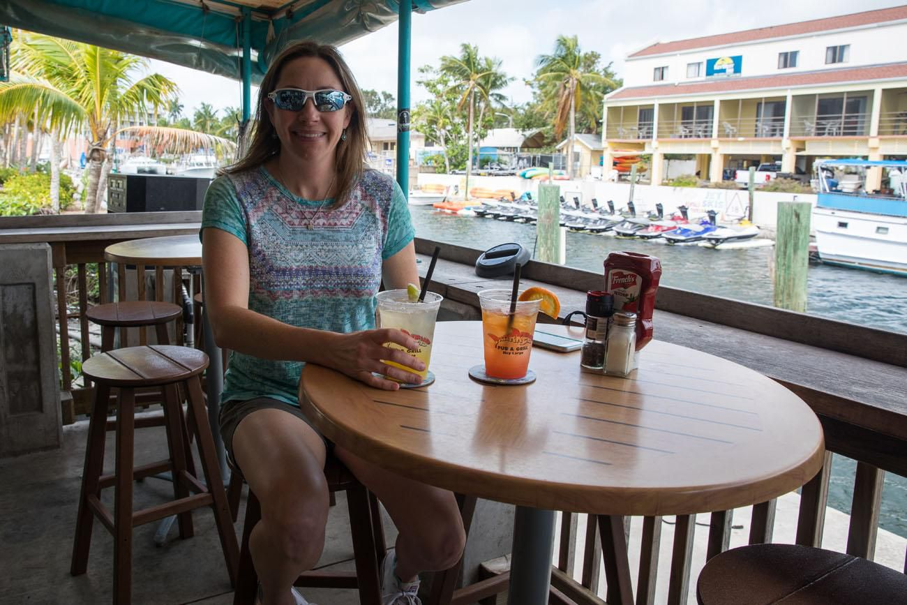 Julie in Key Largo