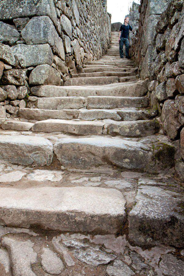 Machu Picchu Steps