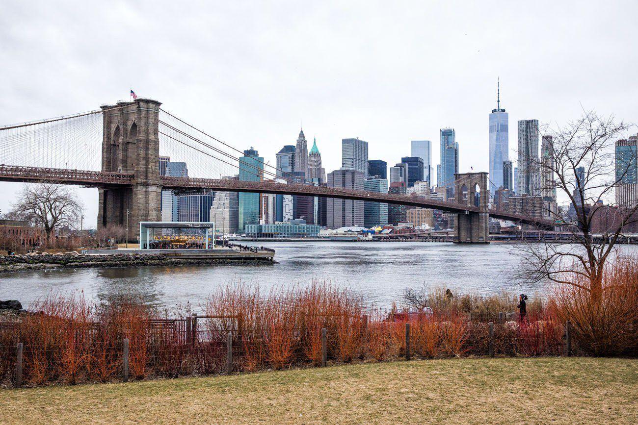 Manhattan Skyline February