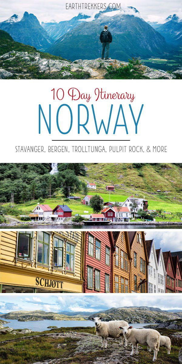 Norway Travel Itinerary
